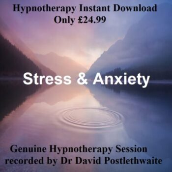 Hypnotherapy stress and anxiety