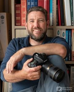 David Priddis, Photographer, Profile shot