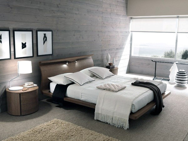 Modern Master Bedroom Layout With Masculine Style Ddr