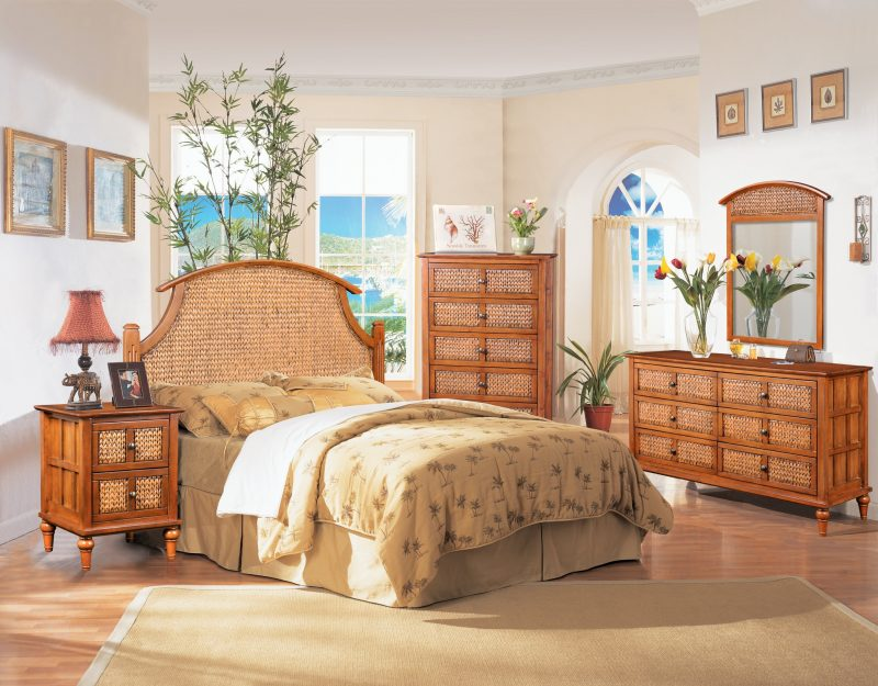 Wicker Bedroom Style For Relaxed Living, Rattan Bedroom Furniture