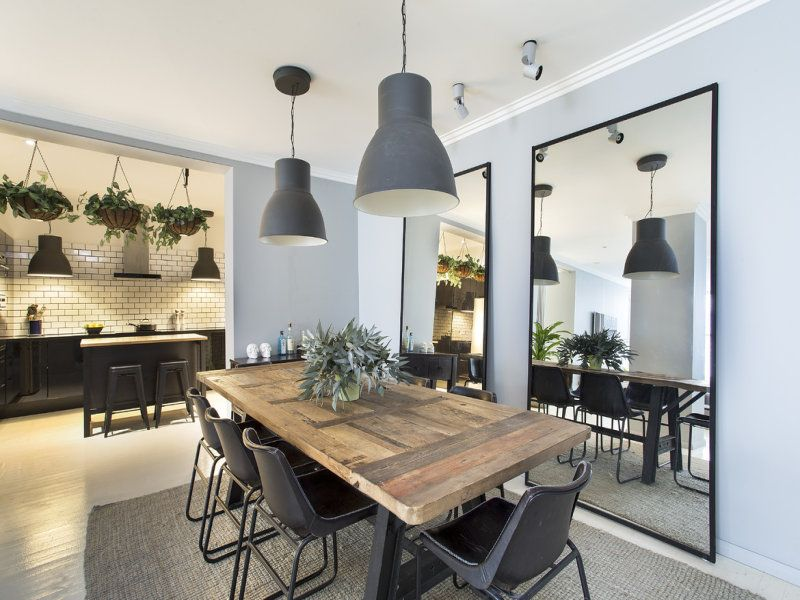 Industrial Dining Room Design That You Can Apply In Your Home Ddr