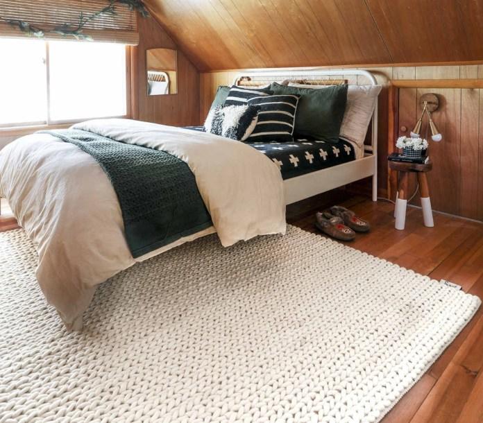 wool bedroom rug