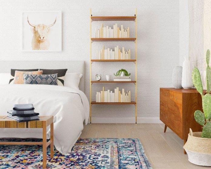 Open-Shelf table
