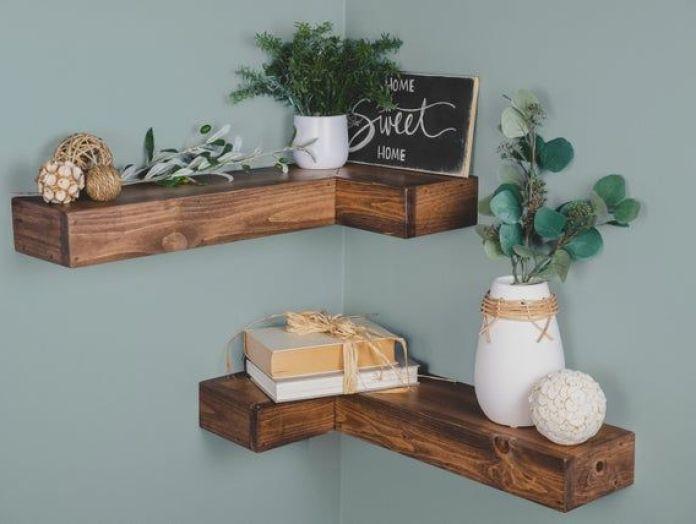 Install a Corner Shelf