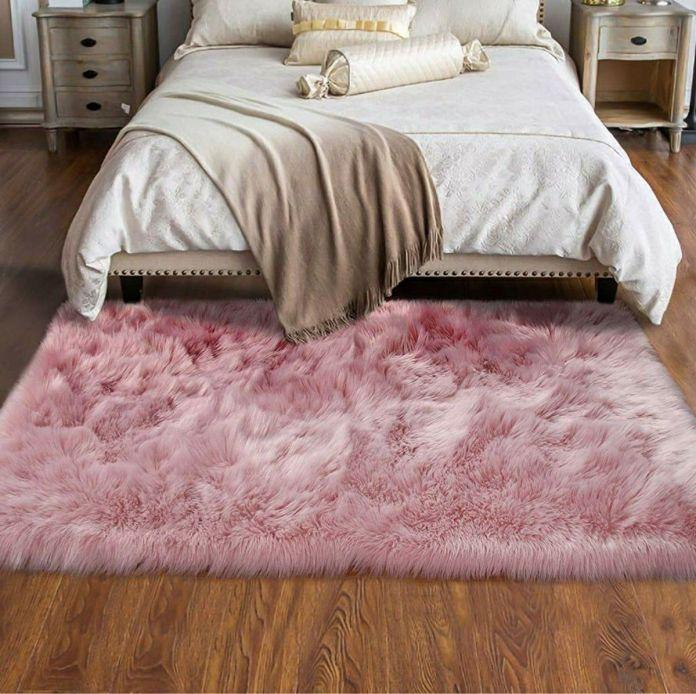 comfortable furry carpet