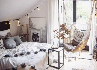 Aesthetic Bedroom Inspiration with Bohemian Interior Style