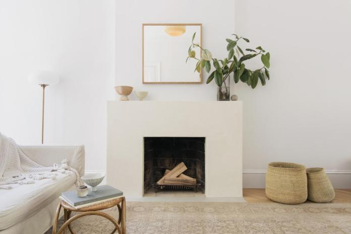 Minimalist Design Fireplace