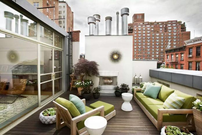 Relaxing Home Terrace