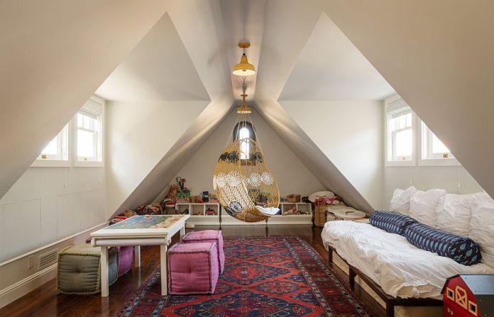 Playroom as Guest Bedroom
