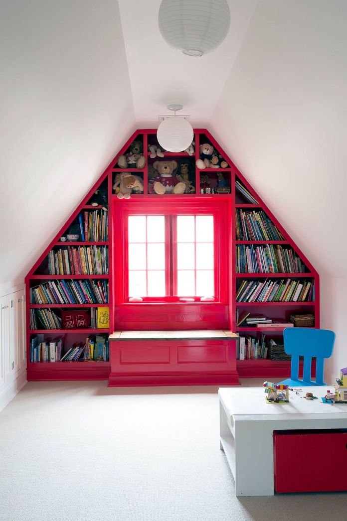 Playroom with Mini Library