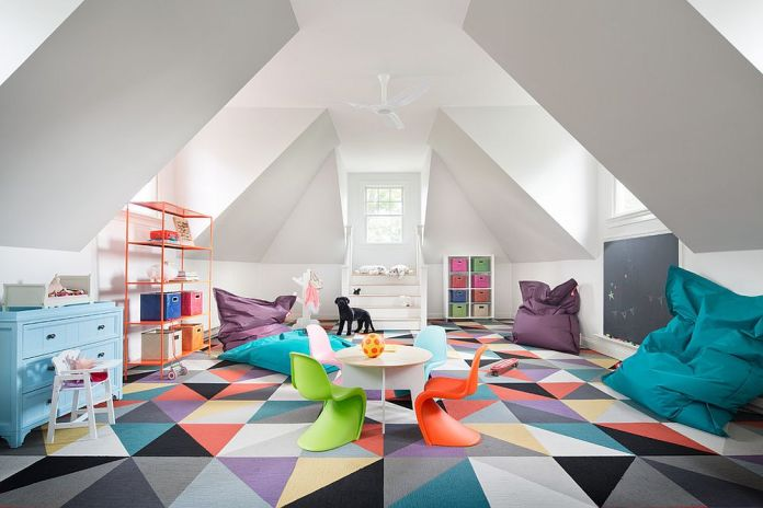 Playroom with Multicolor Decoration