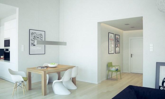 Scandinavian Minimalist Dining Room