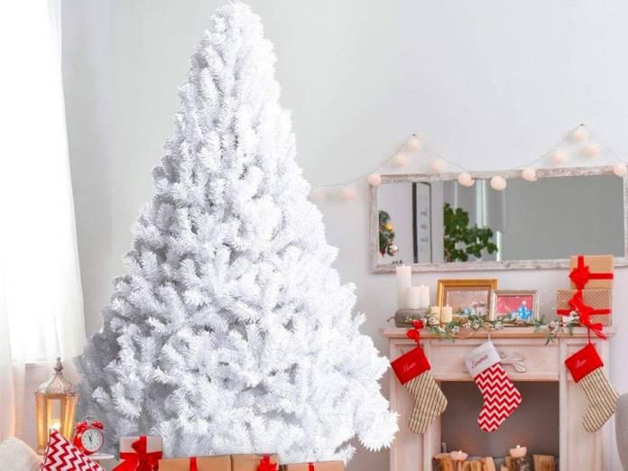 White Unique Christmas Tree