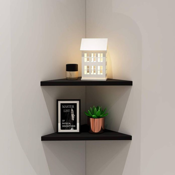 Corner Minimalist Wall Shelf