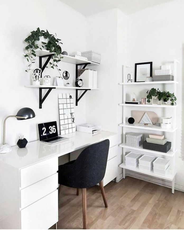 White Study Room