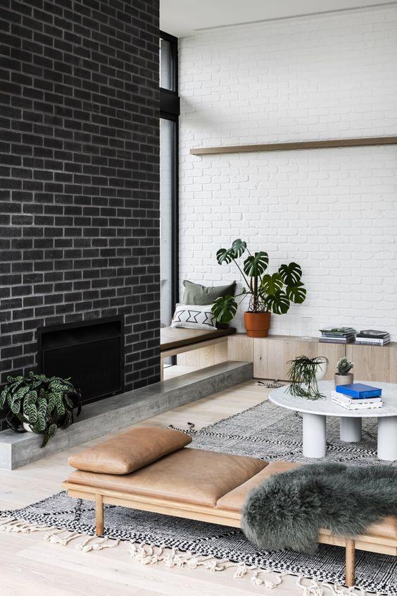bricked stylish wall texture