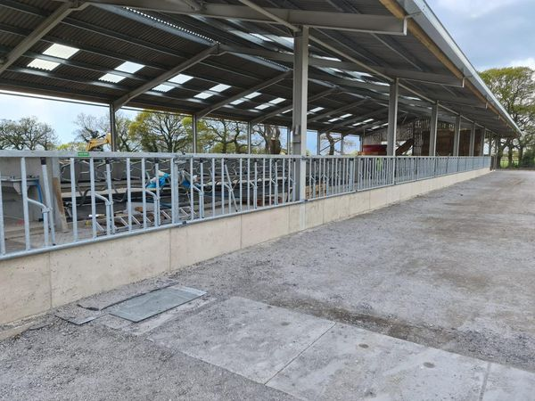 Galebreaker VVS Curtain Pre Installation