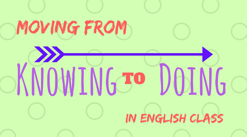 moving from knowing to doing
