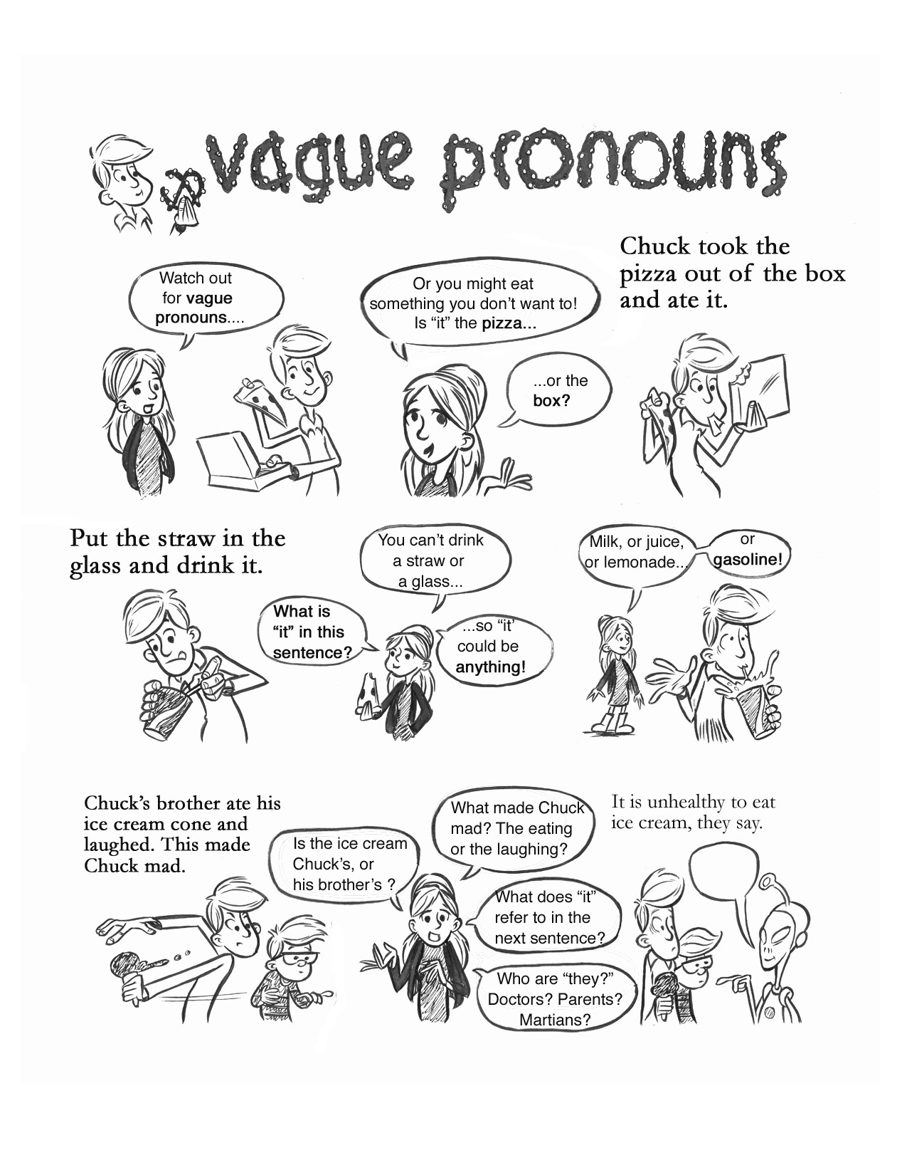 Pronouns And More