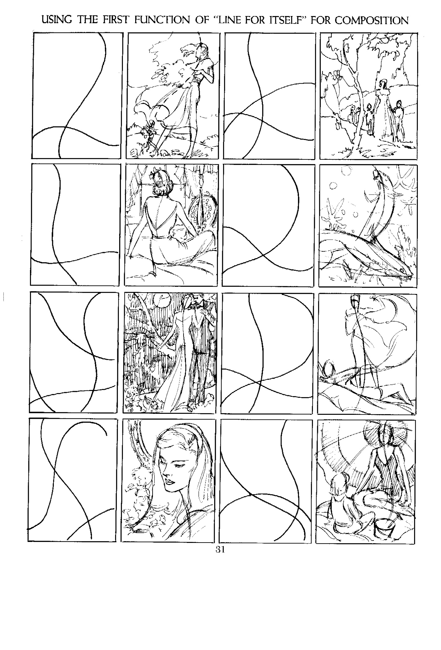Andrew Loomis And Cartooning 1 The Importance Of Line