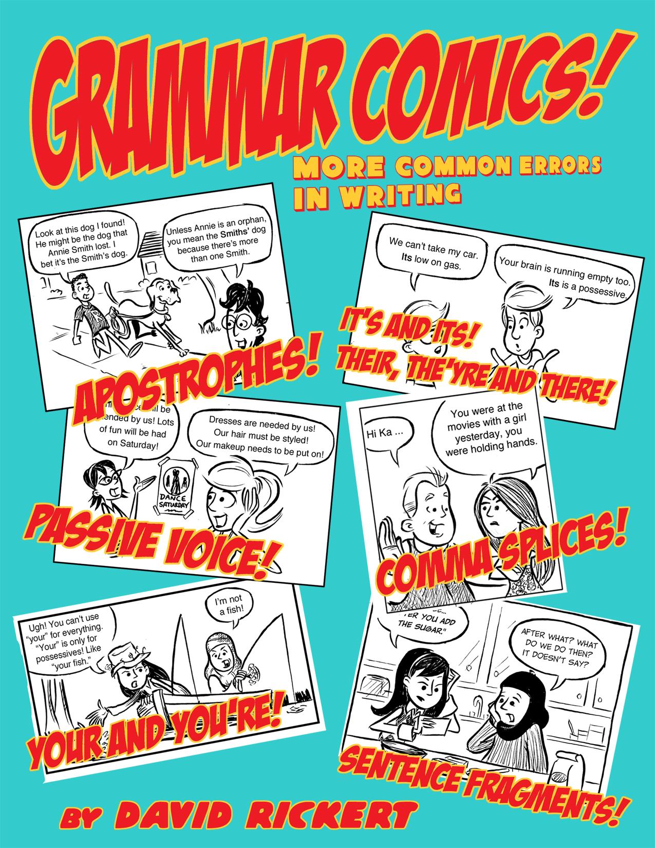 Grammar Comics Even More Common Errors In Writing