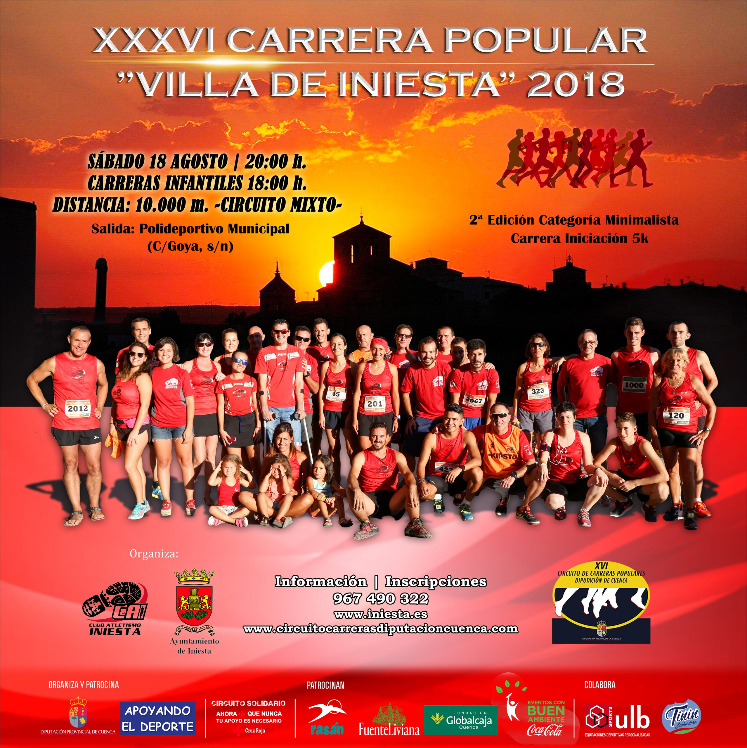Cartel Carrera Iniesta 2018 1 scaled