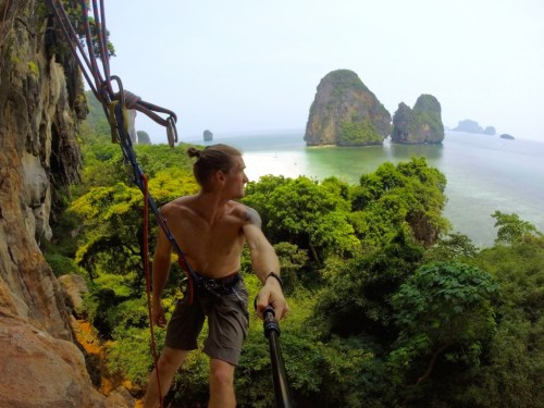 Climbing Fire Wall Tonsai Thailand