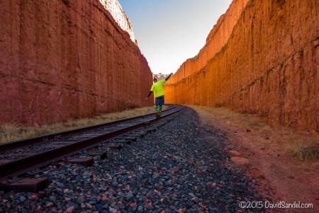 Moab railroad balancing