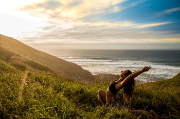 Golden hour yoga