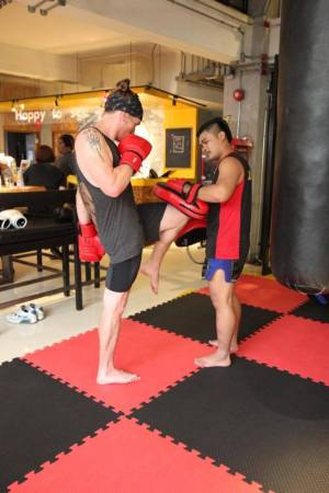 Lub D Hostel Thai Boxing
