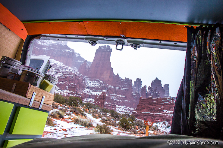 VanLife Fisher Towers