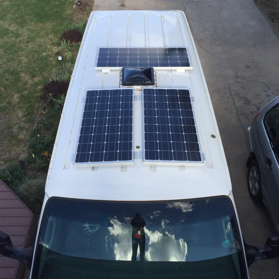 How To Install Renogy Solar Panels On Your Van Vanlife Academy Wiring Diagram