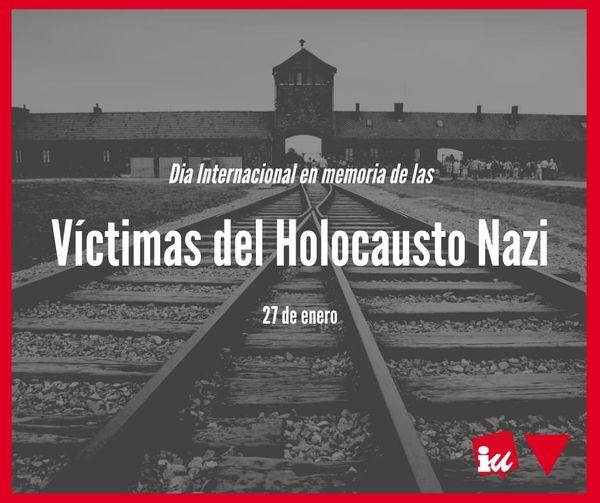27 de enero día internacional víctimas del holocausto nazi