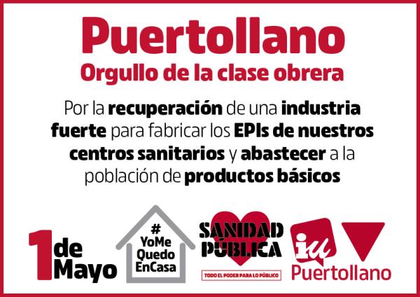 Puertollano 1 de mayo 2020