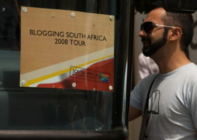 We Blog the World  — South Africa 2008