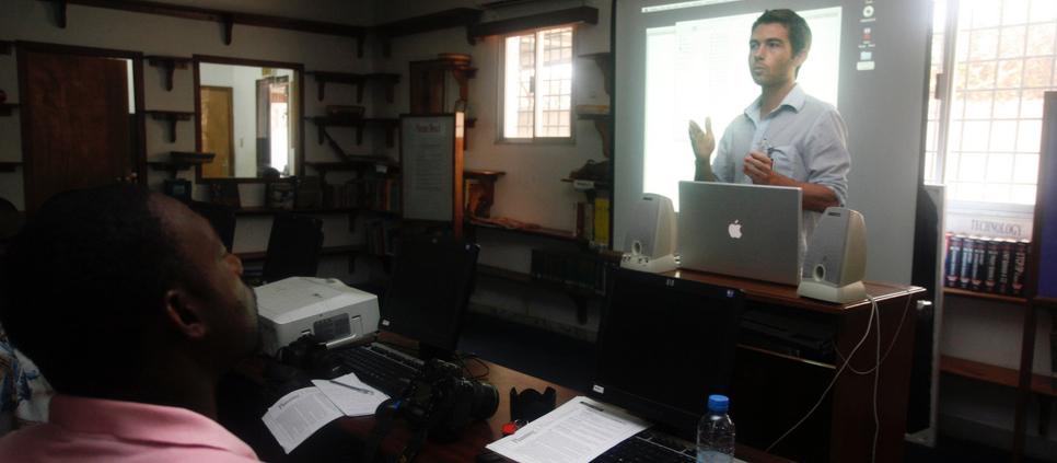 Liberia Media Training 2008 – 09