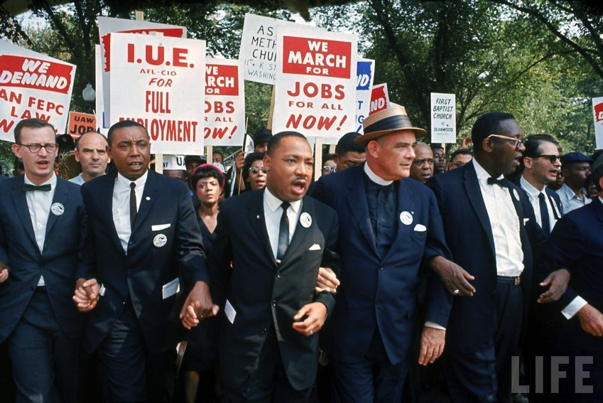 Hist us 20 civil rights mlk dream pic jobs freedom march signs 28aug1963