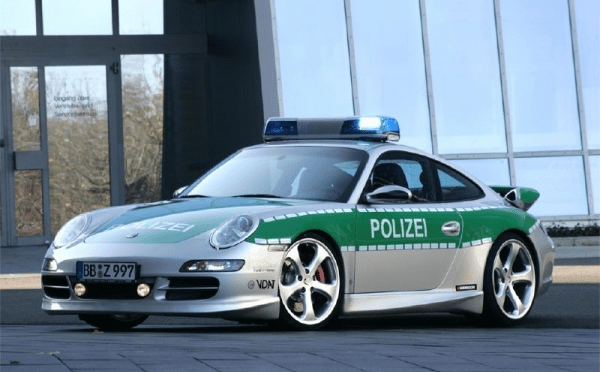 German Police Do It Too