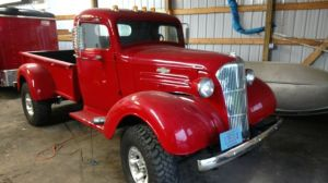 1937 Chevy truck 4x4 V8 350, turbo 400, 205 tcase