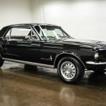 1967 Ford Mustang 6971 Miles Black Coupe 289 V8 C4 For Sale Ford Mustang 1967 For Sale In Sherman Texas United States