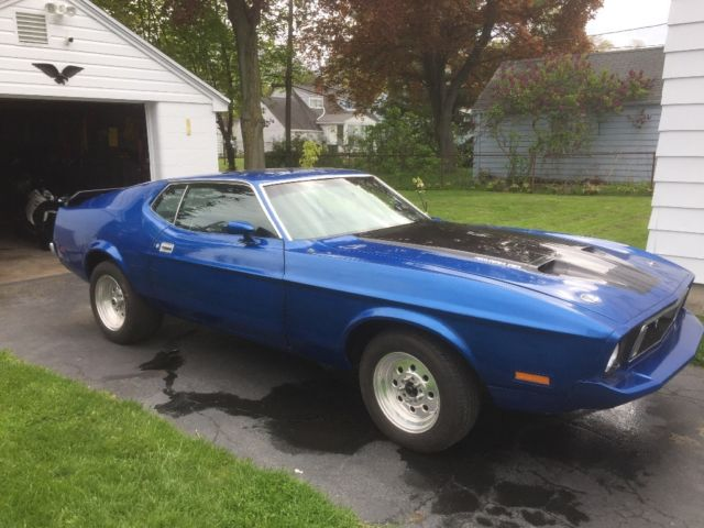 This is the ultimate 1969 mustang. 1973 Ford Mustang Fastback Mach 1 With A 429 For Sale Ford Mustang Sport Roof Mach 1 1973 For Sale In Rochester New York United States