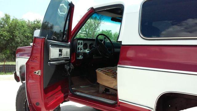 1978 Gmc Jimmy 4x4 High Sierra Lifted Convertible 38s K5