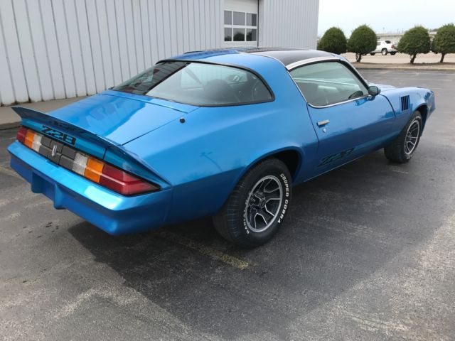 1979 Chevy Camaro Z28 T-tops 350 4 Speed Position Rear End