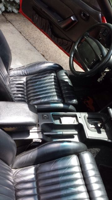 92 Mustang 5 0 Coupe Interior