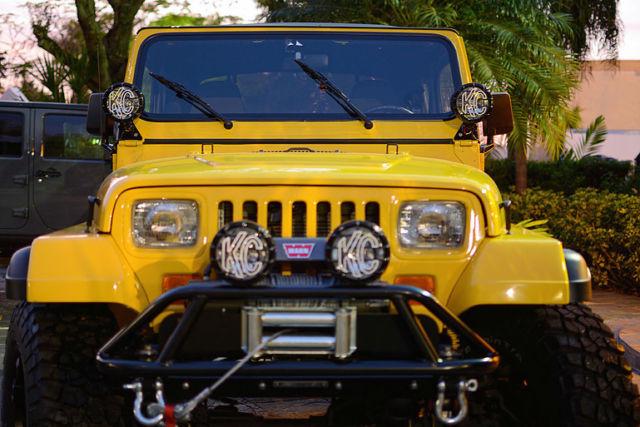 Jeep Wrangler Yj V8 Conversion For Sale