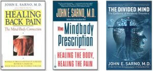 Books by Doctor Sarno Back Pain Relief with Joe Polish