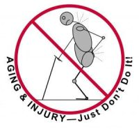 Aging & Injury Just Don't Do It - Muscle Pain Relief - Stress Reduction - structural balancing