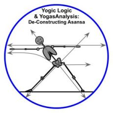Yogic Logic & YogasAnalysis - Triangle & Lines of Energy - basics of hatha yoga poses and let-go yoga therapy