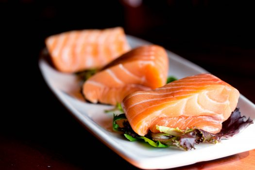 Salmon is a good source of fish oil