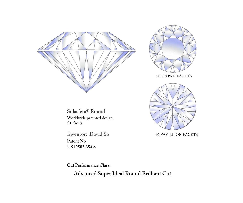 0 53ct Jvs2 Solasfera Round Diamond